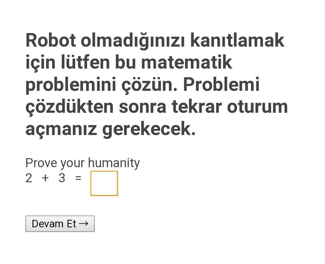 Ben Robot Değilim Testlerini çözerek Milyonlarca Kitabın